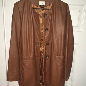 100% Genuine Leather Nieman Marcus Coat